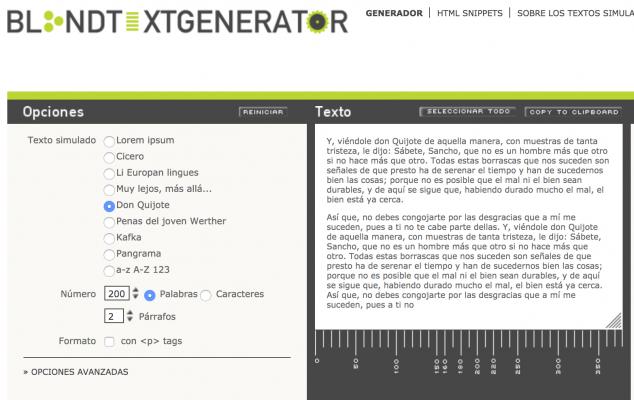 generador de texto falso