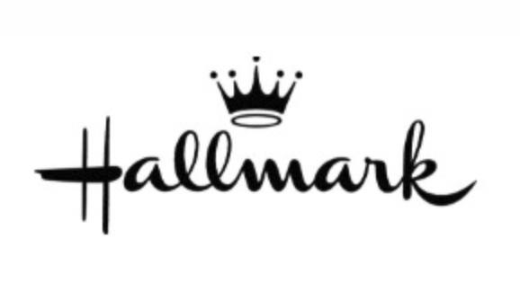 fuente script logo hallmark